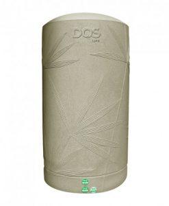 ถังเก็บน้ำบนดิน DOS (DE-02/SB-1000L) พาราไดซ์ สีแซนดี้ บราวน์