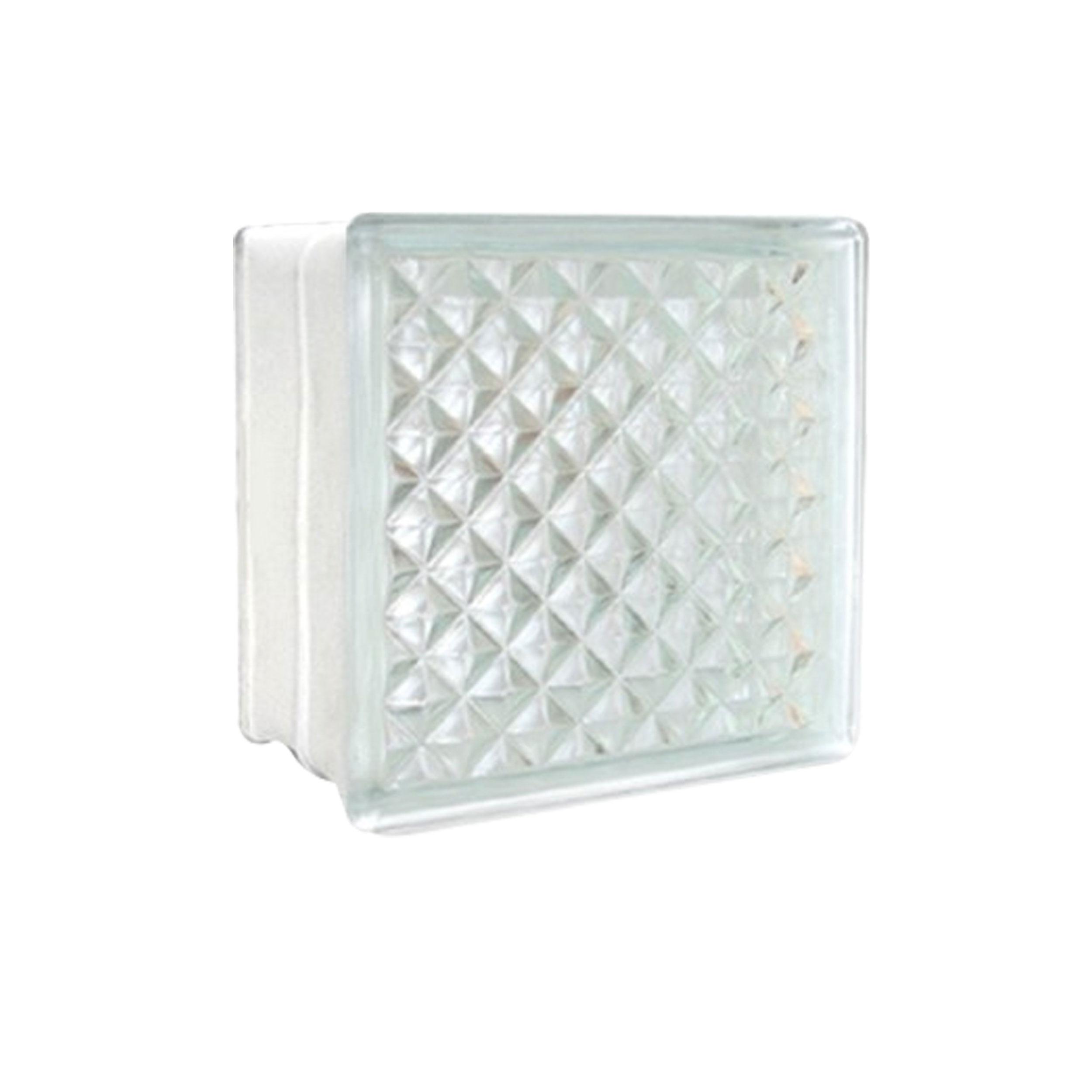 บล็อคแก้ว พลอยประกายแสง Diamond