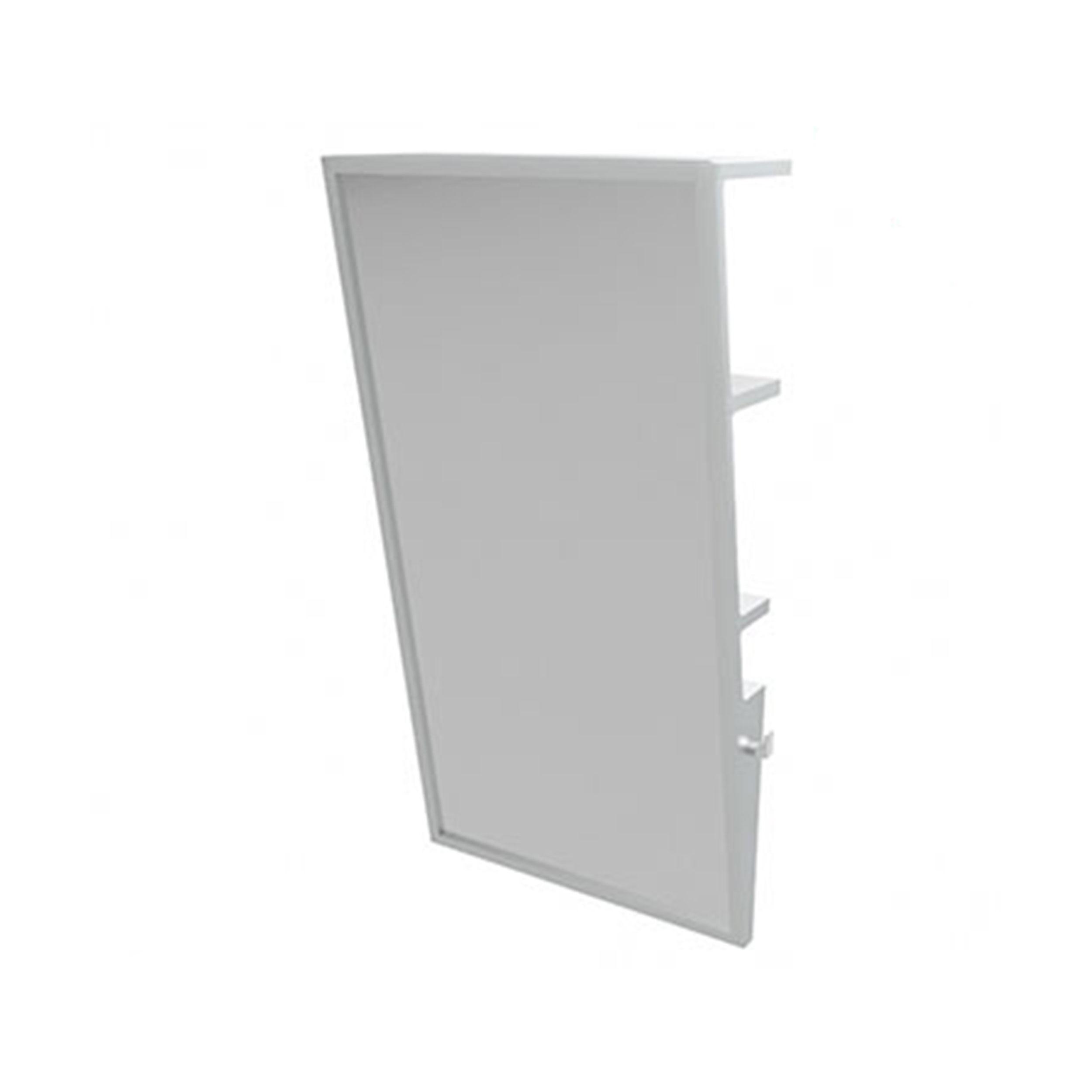 COTTO กระจกเงามุม 10 องศา (คอตโต้) MZ901#WH (สีขาว)