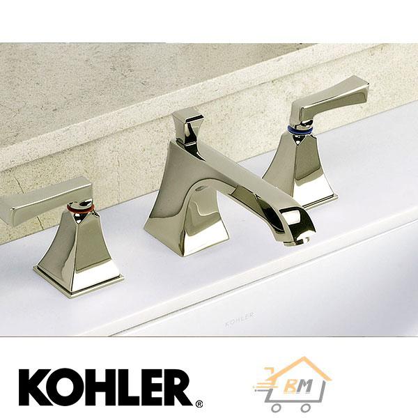 KOHLER ก๊อกผสมอ่างล้างหน้า (โคห์เลอร์) K-454X-4V-CP รุ่น เมมมัวร์