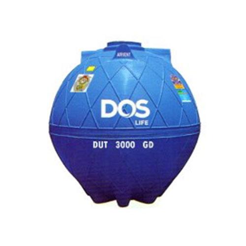 ถังเก็บน้ำใต้ดิน DOS EXTRA DUT-02/BL 3000 L.ทรงnet-tech