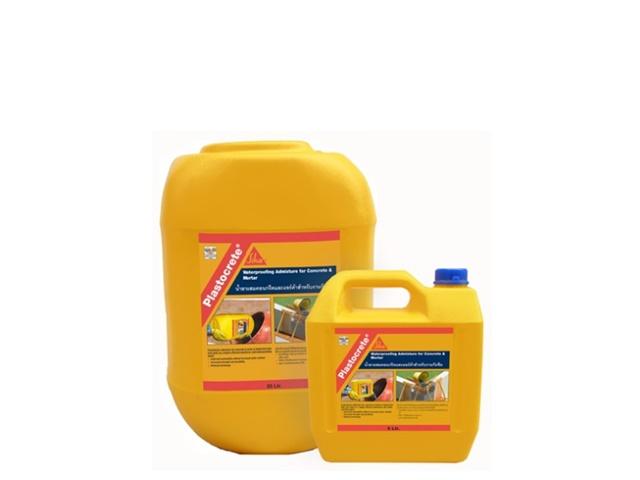 Plastocrete ซิก้า น้ำยากันซึม (พลาสโตกรีต)