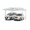 โรงจอดรถสำเร็จรูปแบบคู่ รุ่น NESCA LIGHT M-TYPE (Duo) 4.8x5x2.6 m.