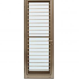 ประตูระบายอากาศ (เปิดซ้าย) TOSTEM รุ่น WE-70 กระจกเขียวใส 5 มม.