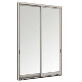 หน้าต่างบานเลื่อนคู่(เลื่อนสลับ) TOSTEM รุ่นWE-40 กระจกเขียวใส 5 มม.