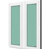 หน้าต่างบานฟิกซ์ 2 panel WINDSOR รุ่น SIGNATURE กระจกเขียวใส 6 มม.