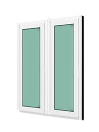 หน้าต่างบานฟิกซ์ 2 panel Fixed มม. กระจกเขียวใส 5 มม. WINDSOR รุ่นสมาร์ท