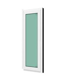 หน้าต่างบานฟิกซ์ WINDSOR รุ่น SMART กระจกเขียวใส 5 มม.