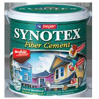 สีทาไม้ฝา Synotex Fiber Cement โปร่งแสง เบเยอร์
