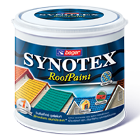 สีน้ำ Synotex Roof Paint Beger 1/4 กล.