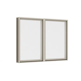 หน้าต่างบานฟิกซ์ 2 panel Fixed TOSTEM รุ่น WE-70 กระจกเขียวใส 5 มม.