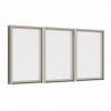 หน้าต่างบานฟิกซ์ 3 panel Fixed TOSTEM รุ่น WE-70 กระจกเขียวใส 5 มม.