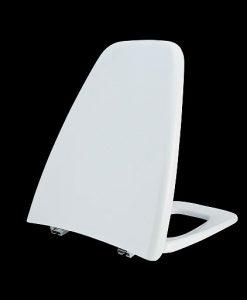 ฝารองนั่งทรงสี่เหลี่ยมคางหมู TZ 01 เนื้อพลาสติกชนิดพิเศษ PIXO