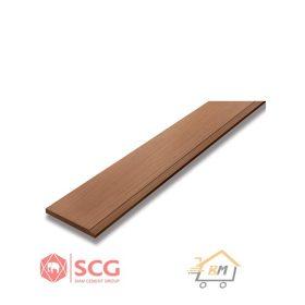 ไม้เชิงชาย เอสซีจี ขนาด 15x400x1.6 ซม.และ ขนาด 20x400x1.6 ซม. สีรองพื้น