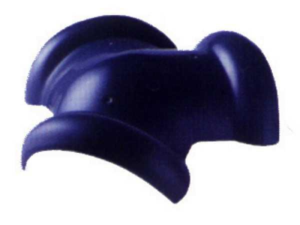 ครอบ3ทาง เอสซีจี รุ่นเอ็กซ์เซลล่าคลาสสิค ข้อมูลสินค้า น้ำหนัก 2.8 กก. ใช้ปิดจุดที่สันหลังคาบรรจบกับตะเข้สันสำหรับหลังคาแบบปั้นหยา ครอบโค้ง 3 ทาง ใช้กับกระเบื้องหลังคา รุ่นคลาสสิค