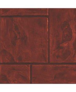 กระเบื้องคอนกรีตปูพื้น เอสซีจี รุ่น แสตมป์เพฟ- ลายเอเทนส์ สีแดง