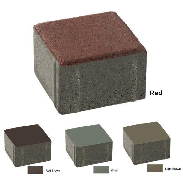 บล็อกปูพื้น เอสซีจี รุ่นศิลาเหลี่ยม (แพค) ขนาด 10X10X6 ซม.