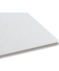 แผ่นฝ้าปิดผิวไวนิล ไวนิลทัช (VinylTouch) ลายทรายขาว(White) ตราช้าง