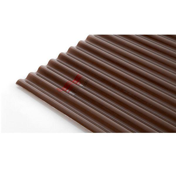 แผ่นโปร่งแสง เอสซีจี ลอนกันสาด Heat Shield สีชา(Light Brown)