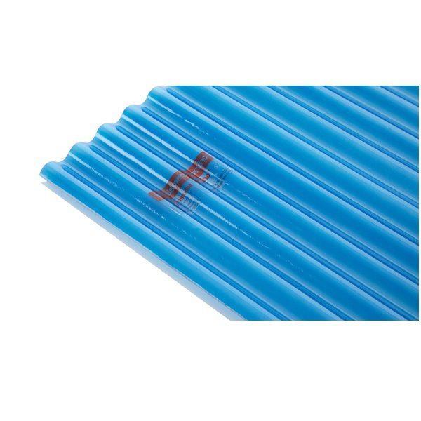 แผ่นโปร่งแสง เอสซีจี ลอนกันสาด Heat Shield สีน้ำเงิน (Sky Blue)