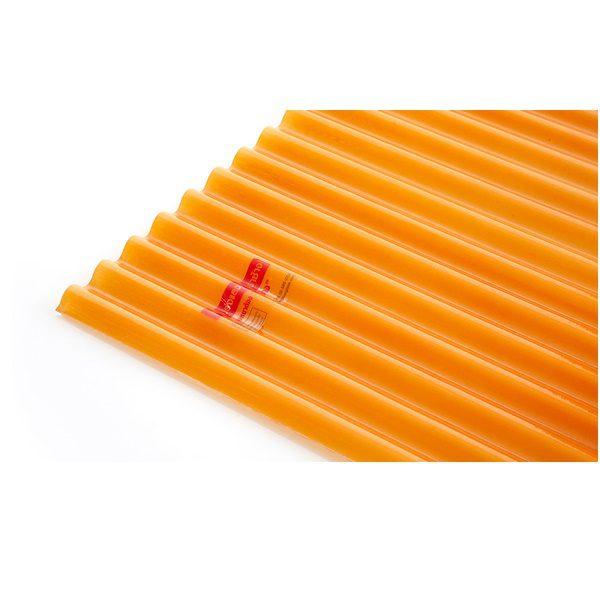 แผ่นโปร่งแสง เอสซีจี ลอนกันสาด Heat Shield สีส้ม(Orange)