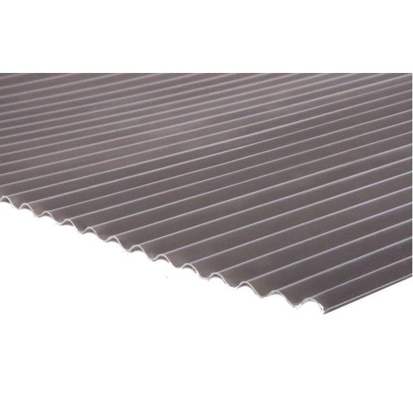 แผ่นโปร่งแสง เอสซีจี ลอนกันสาด Heat Shield สีเทาหมอก(Gray Mist)