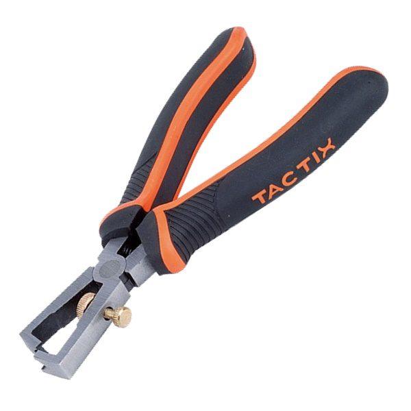"Tactix คีมปอกสายไฟ 6""(160mm) #200025"