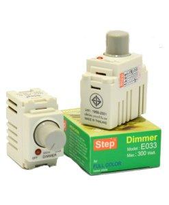 สวิทซ์หรี่ไฟ 300W STEP E033