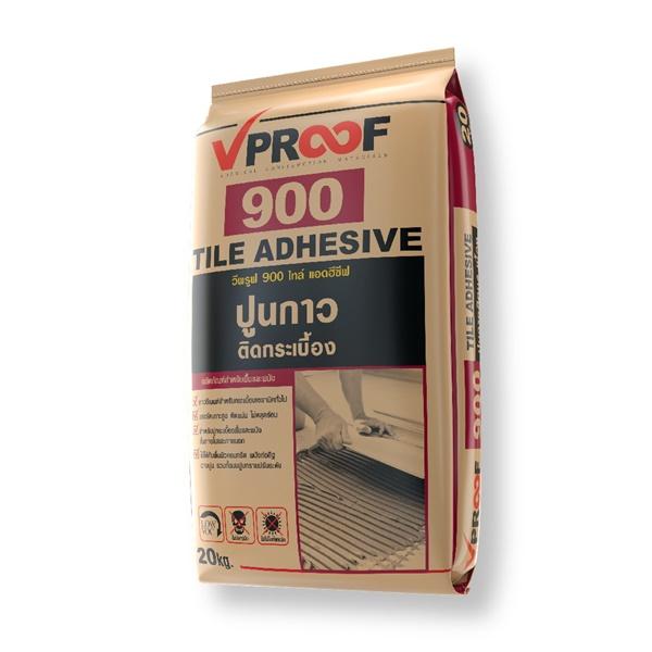 VPROOF 900 ปูนกาวติดกระเบื้อง 20กก.