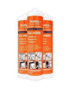 ยาแนว ซิลิโคนชนิดกรด Sx-4000