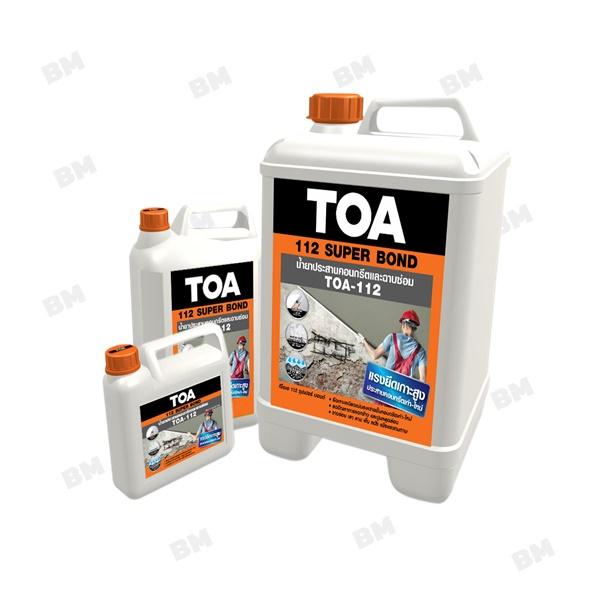 TOA 112 Super Bond น้ำยาประสานคอนกรีตเก่ากับใหม่