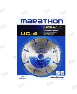 """ใบตัดคอนกรีต 4"""" MARATHON UC-4"""