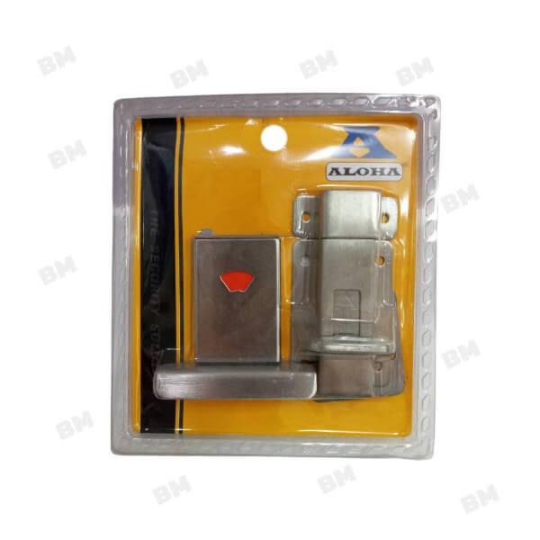 """กลอนห้องน้ำ สแตนเลส 4"""" 82-026900 RAIDER"""