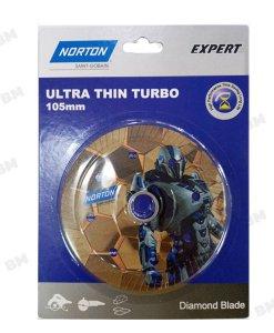 """ใบตัดเพชร Turbo Paint 4"""" NORTON Expert"""