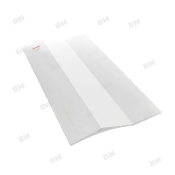 แผ่นโปร่งแสง เอสซีจี ลอนบานเกล็ด 60x120 ซม. สีขาวมุก