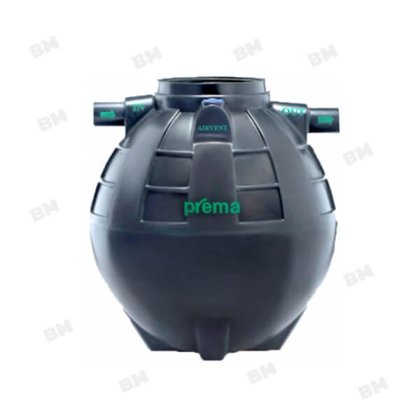 PMN1200E1 ถังบำบัดน้ำเสียแบบรวมส่วนเกรอะและส่วนกรองชนิดไม่เติมอากาศ PREMA ขนาด 1,200 ลิตร