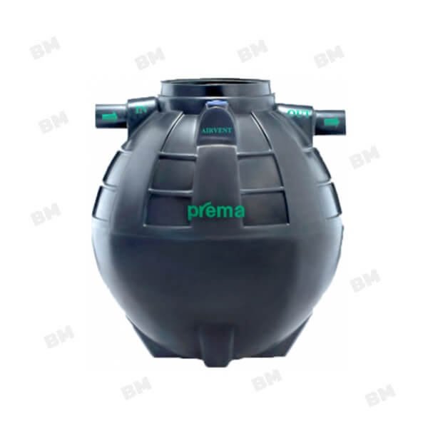 PMN1600E1 ถังบำบัดน้ำเสียแบบรวมส่วนเกรอะและส่วนกรองชนิดไม่เติมอากาศ PREMA ขนาด 1,600 ลิตร