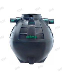 PMN2000E1 ถังบำบัดน้ำเสียแบบรวมส่วนเกรอะและส่วนกรองชนิดไม่เติมอากาศ PREMA ขนาด 2,000 ลิตร
