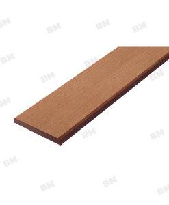ไม้รั้ว เอสซีจี ขนาด 7.5X400X1.2 ซม. สีรองพื้น