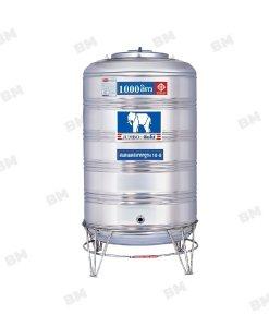 ถังน้ำตราช้าง(Jumbo)จัมโบ้ ทรงสูง 1000 ลิตร JMCX1000